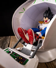 Hypebeast Vegeta with Space Pod