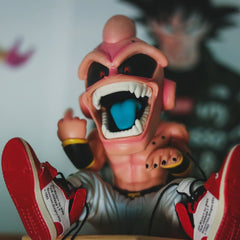 DBZ KID Buu Figure with Sneakers Display Set