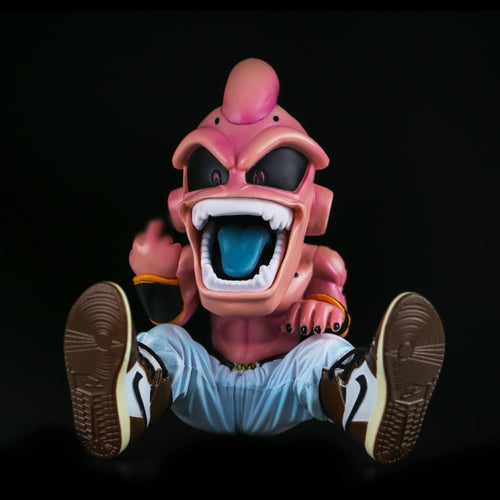 DBZ KID Buu Figure with Sneakers Display Set - AJ1 Travis Scott - Action & Toy Figures