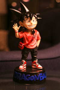 DBZ Hypebeast Goku Figure with Base