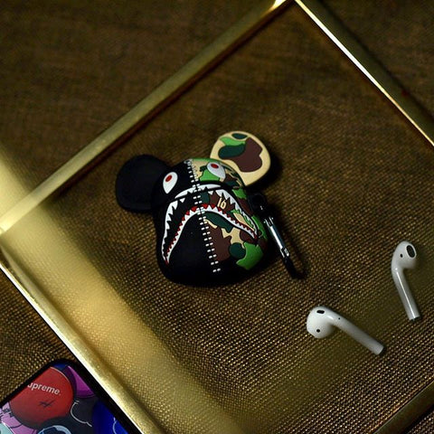 Bape Bearbreak 400 Inspired AirPods Case
