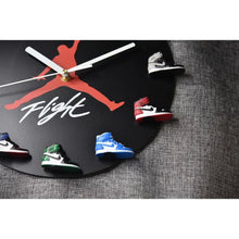 Load image into Gallery viewer, AJ 3D Sneaker Clock with All AJ1 Retros Mini Sneakers - Action & Toy Figures