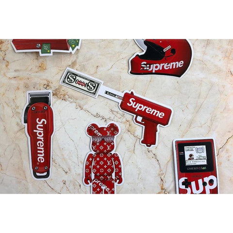 Supre Accessories Stickers Removable and Waterproof - Action & Toy Figures