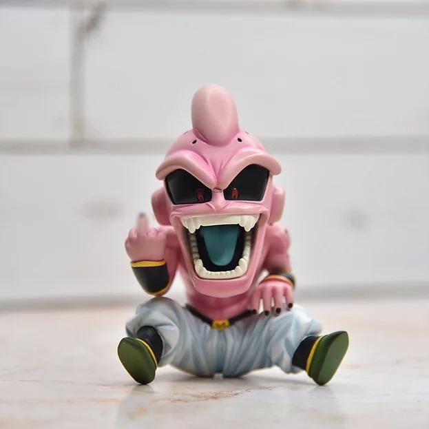 DBZ KID Buu Figure with Sneakers Display Set - No Sneakers - Action & Toy Figures