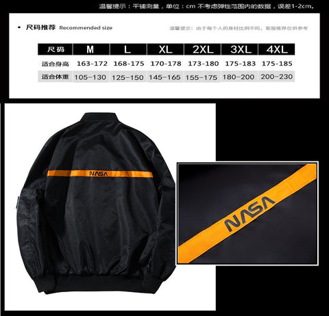 NASA Joint MA1 Pilot Heron Preston Air Force Jacket