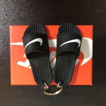Load image into Gallery viewer, 3D Miniature NK Slippers/Sandal Keychain - Swoosh Only - Key Chains