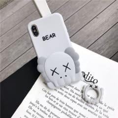 KWS Bear iPhone XS MAX Case With Ring