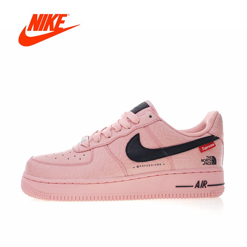 huge discount 63385 979cd Original New Arrival Authentic Nike Air Force 1 X Supreme X The North Face Women s  Skateboarding