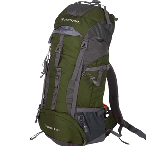 Backpack Hiking Bag Internal Frame 50 Liter By Stansport