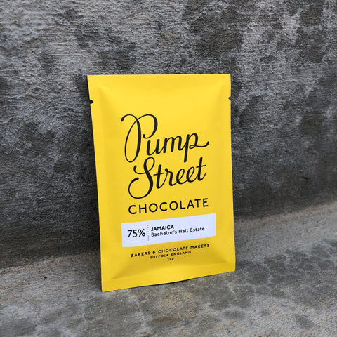 Pump Street Chocolate: Jamaica Bachelor's Hall Estate 75% - Mini