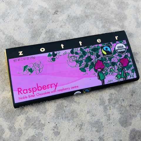 Zotter: Hand Scooped Raspberry