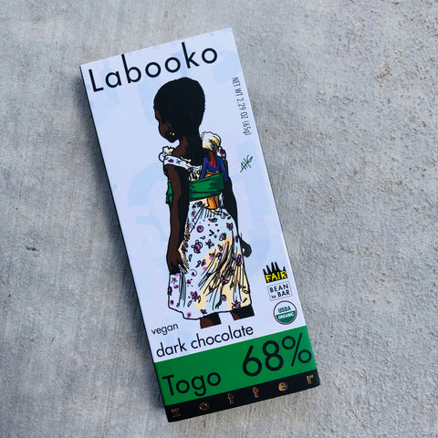 Zotter: Labooko Dark Chocolate Togo 68%