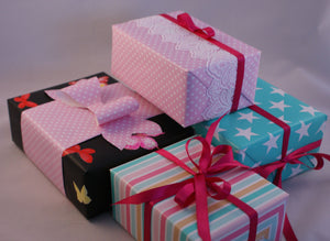 Send someone a Fairbow present, and we will wrap it as a gift for you!