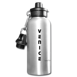Venice Water Bottle - silver