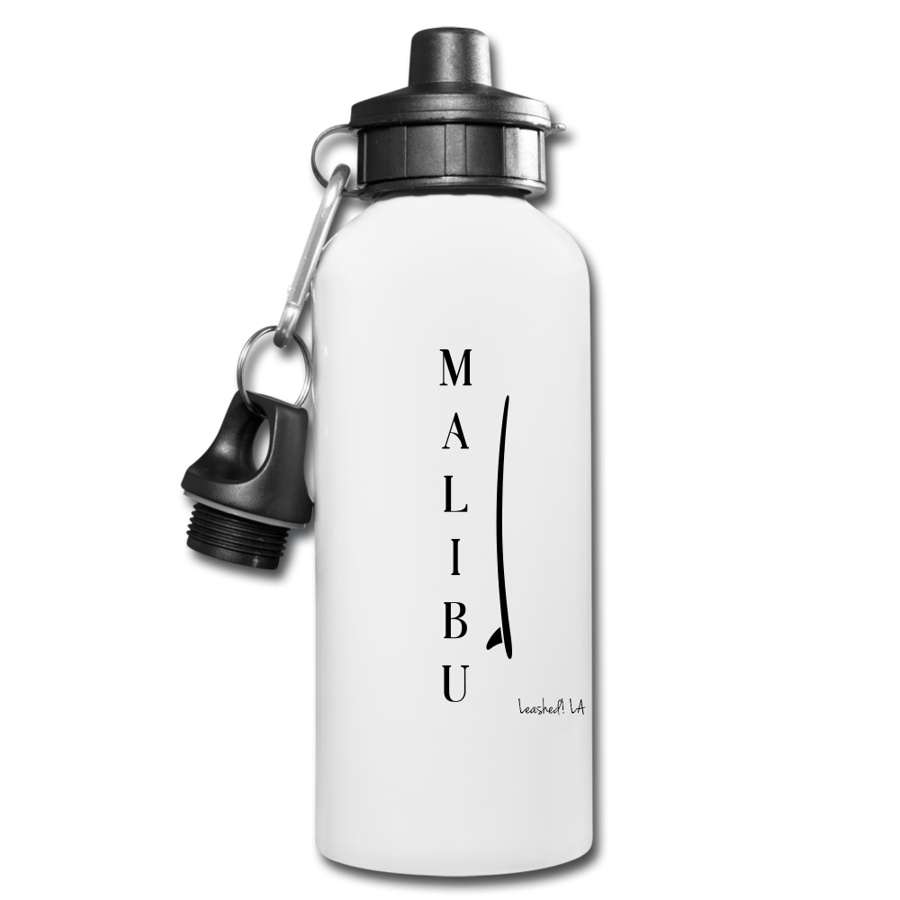 Water Bottle - white - malibu