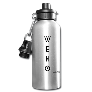 WEHO Water Bottle - silver