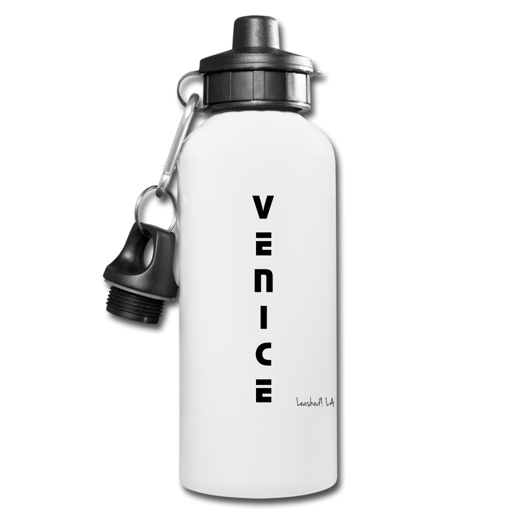 Venice Water Bottle - white