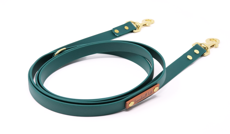 Dog Leash - Leather Alternative Dog Leash - Brentwood Dog Leash
