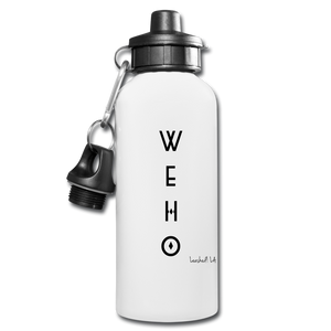 WEHO Water Bottle - white