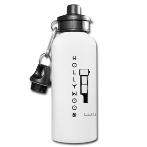 Hollywood Water Bottle - white