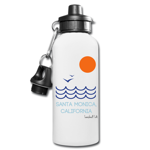 Santa Monica Water Bottle - white