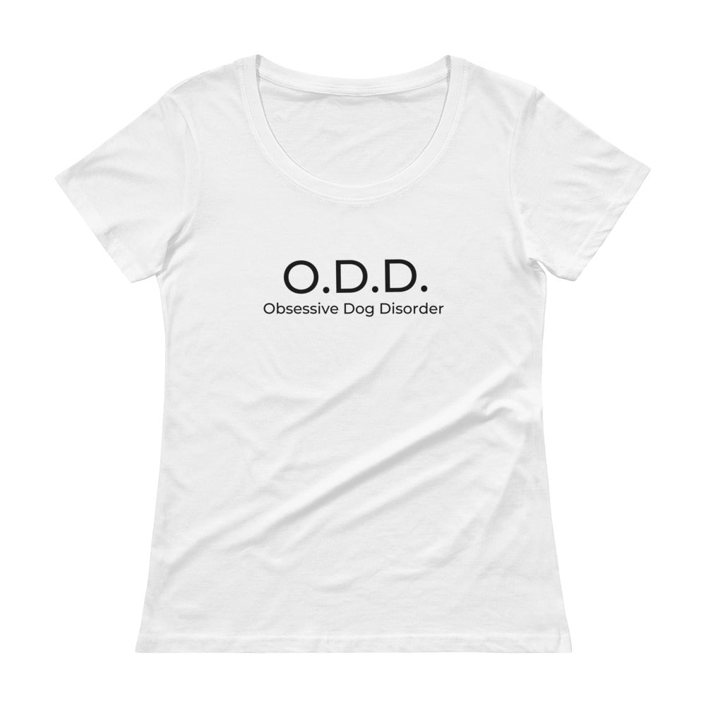 Womens Tee - Obsessive Dog Disorder Tee