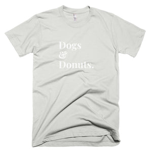 Dogs and Donuts Tee - Mens Dog Tee