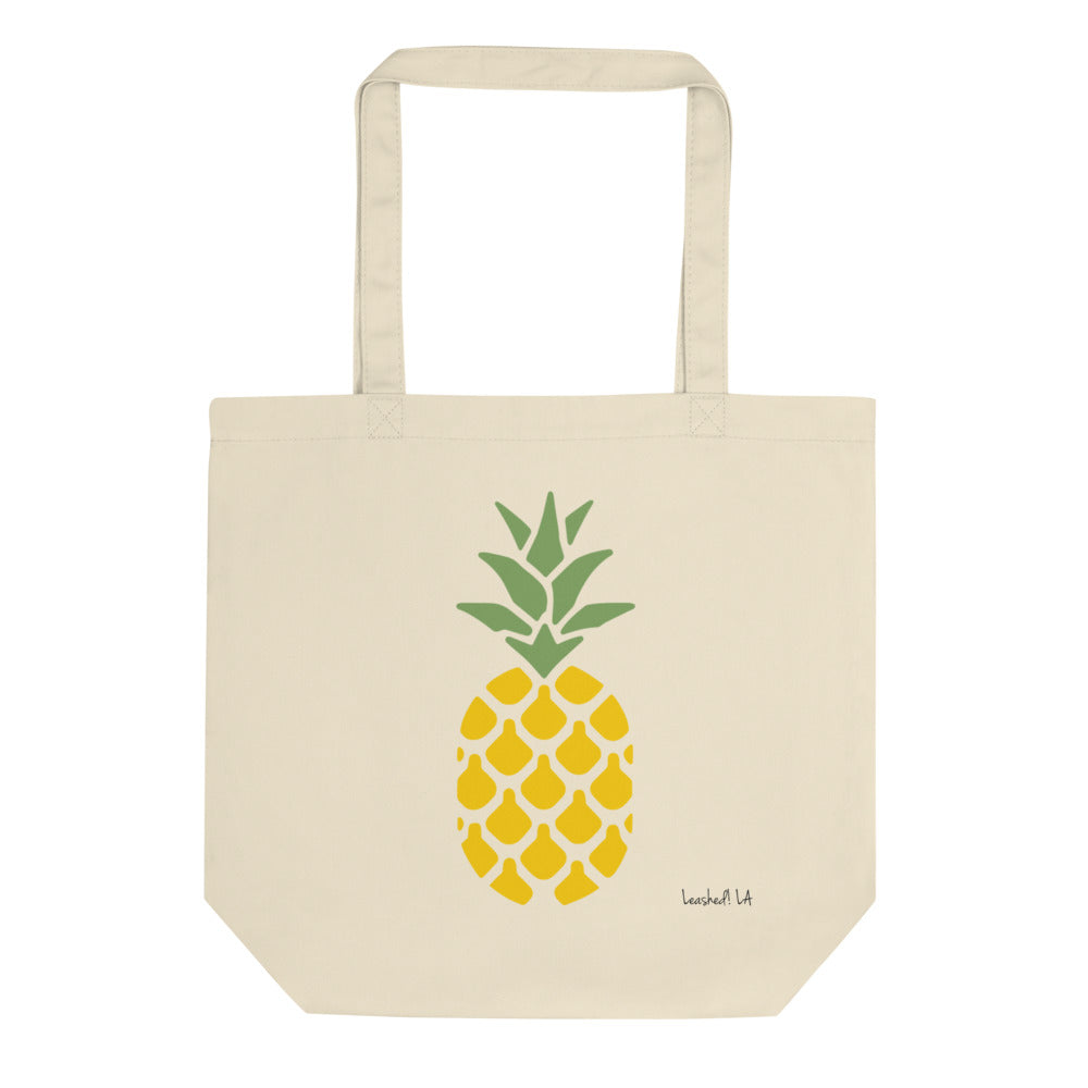 Pineapple Tote Bag - Organic Tote Bag