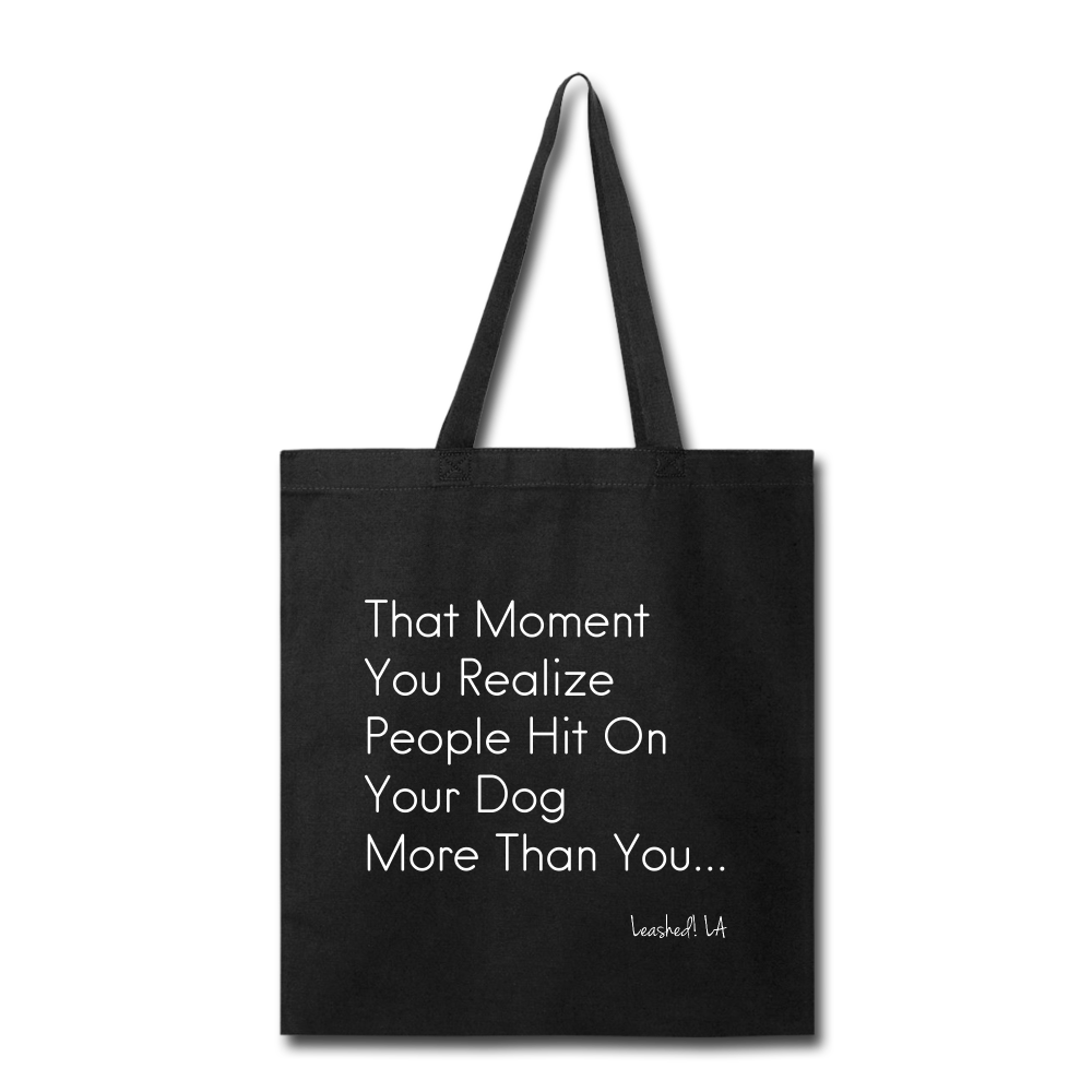 This Bitch Tote Bag - black