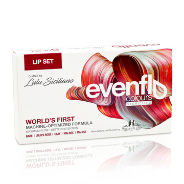 EVENFLO COLOURS LIP COLLECTION by PERMA BLEND