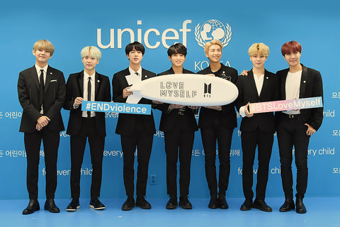 bts love myself end violence campaign