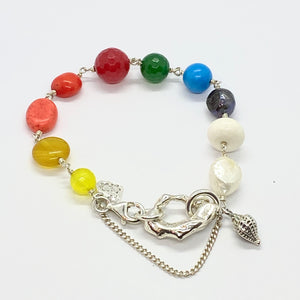 Liquid Silver Bracelet - Colour Me Baby