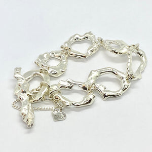 Liquid Silver Bracelet - Monster