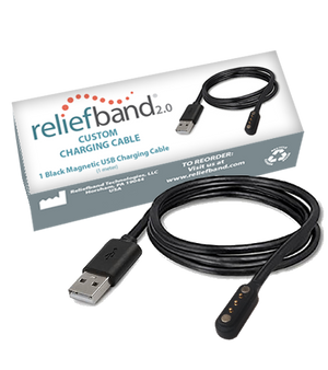 Custom Charging Cable for Reliefband 2.0 devices only