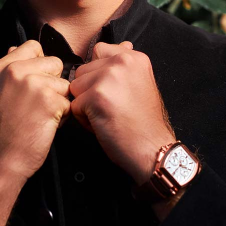 Men's Rose Gold Collection