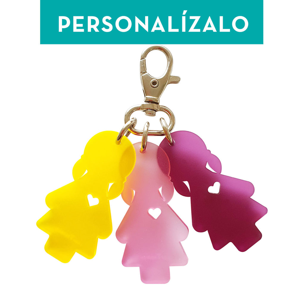 Charm LOVE: triple *Personalizable*