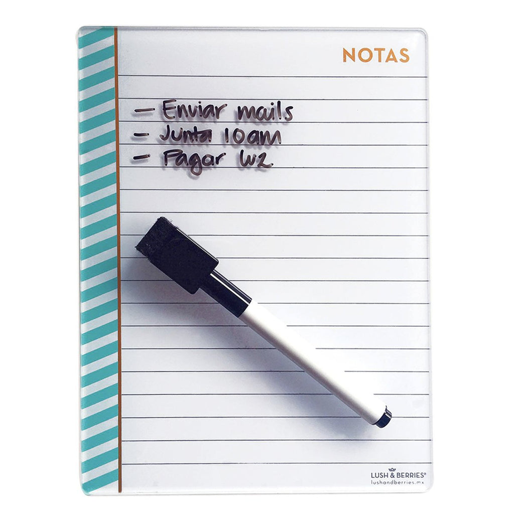 Mint Shake Notepad