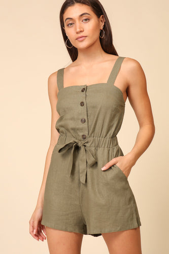 Selena Sleeveless Romper