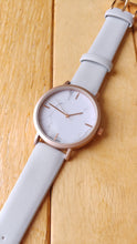 DUSTY PALE BLUE W/ MARBLE WATCH