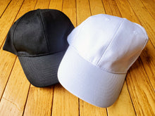 Plain Canvas Snapback Ball Cap