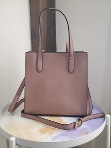 Mini Mauve Simple Tote