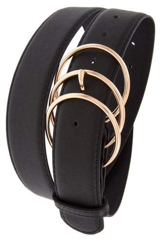 Triple Ring Link Buckle Belt