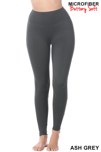 Butter You Up Leggings in Ash Grey