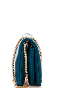 TEAL CROSSBODY PURSE