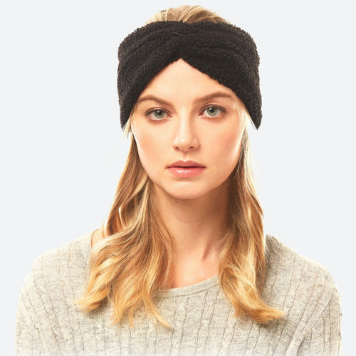 Sherpa Fleece Headwrap