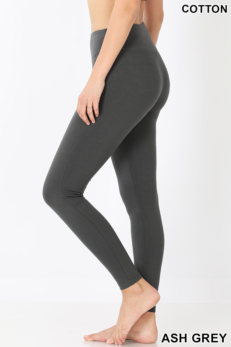 Back to Basics Leggings in Ash Grey