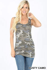 Dusty Camo Premium Basic Tank