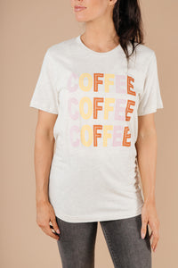 Caffeine Addiction Graphic Tee