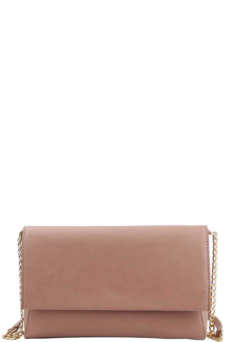 Modern Crossbody Bag in Blush