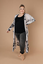 Long Game Black & White Cardigan